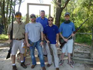 AgSouth Team at the 2016 Sporting Clay Fundraiser