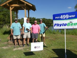 Screven Gin Team at the 2016 Sporting Clay Fundraiser