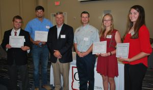 Four Students Awarded the 2016 GCPA Scholarship