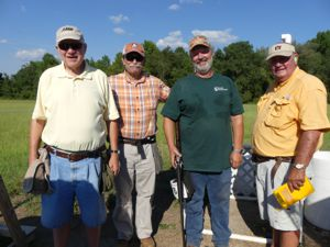 Sharpshooters at the 2016 Sporting Clay Fundraiser